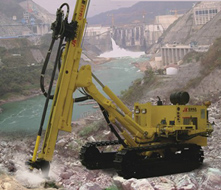 458(D) Multi-functional Crawler-type Deep Hole DTH Drilling rig