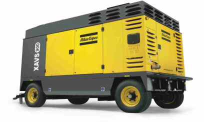 ATLAS Portable Diesel Driven Air Compressor