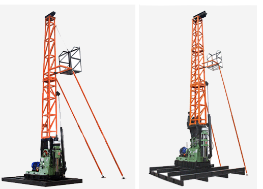 Integrated Rig with Tower Type Core Drill Rigs