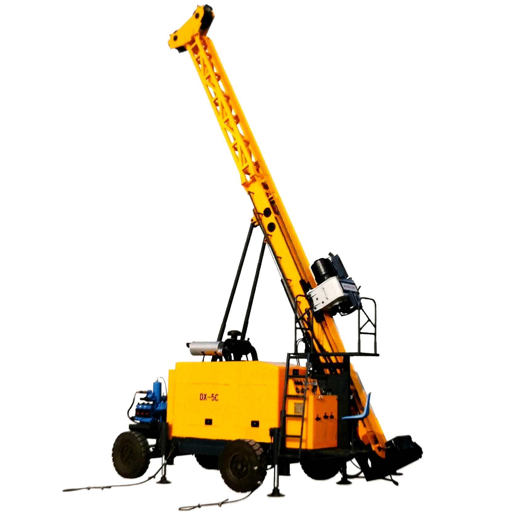 DX- 5C Full Hydraulic Core Drilling Rig
