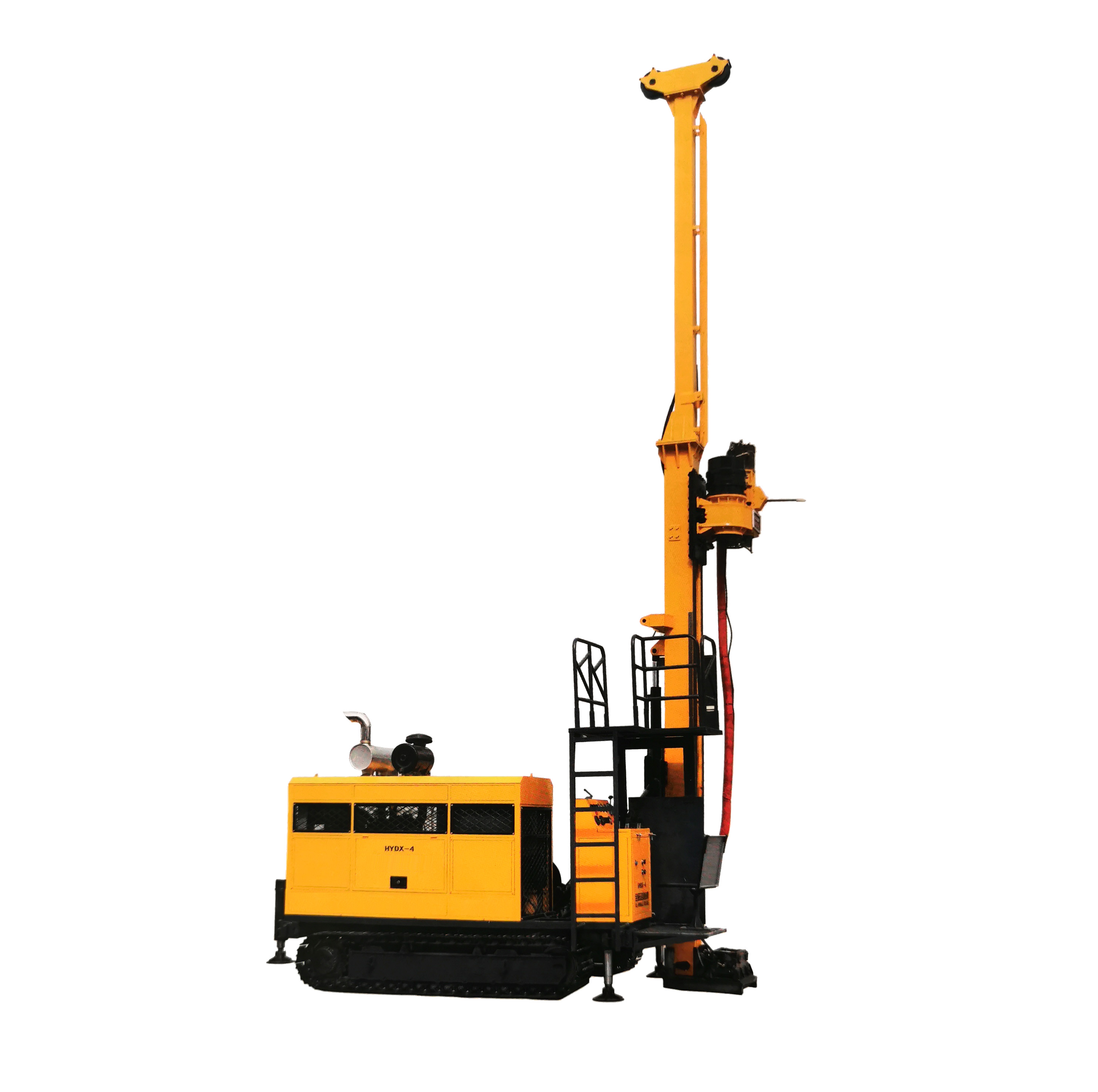 DX4 full Hydraulic Crawler Core Drilling Rig