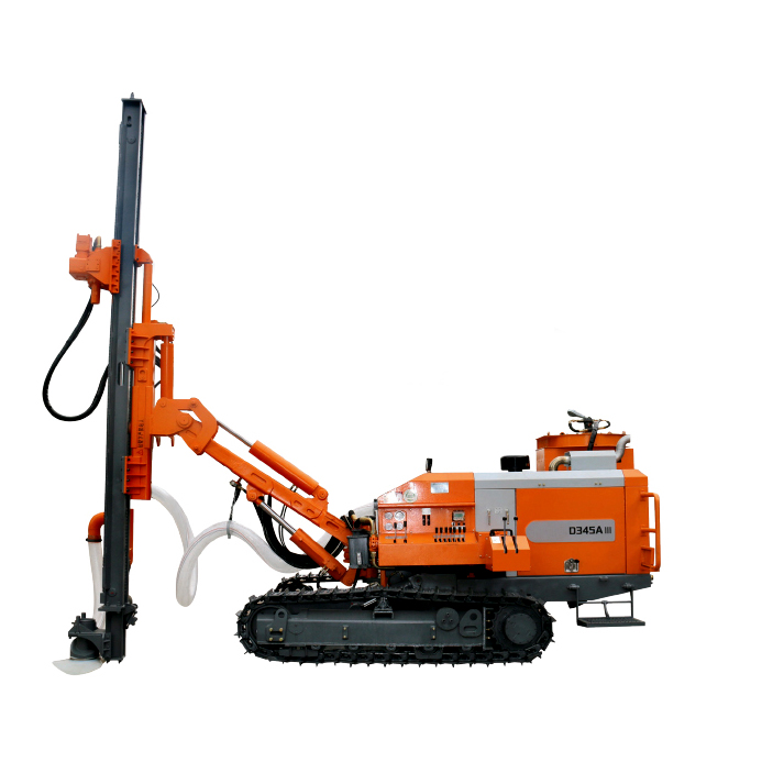 Separated DTH Surface Drill Rig