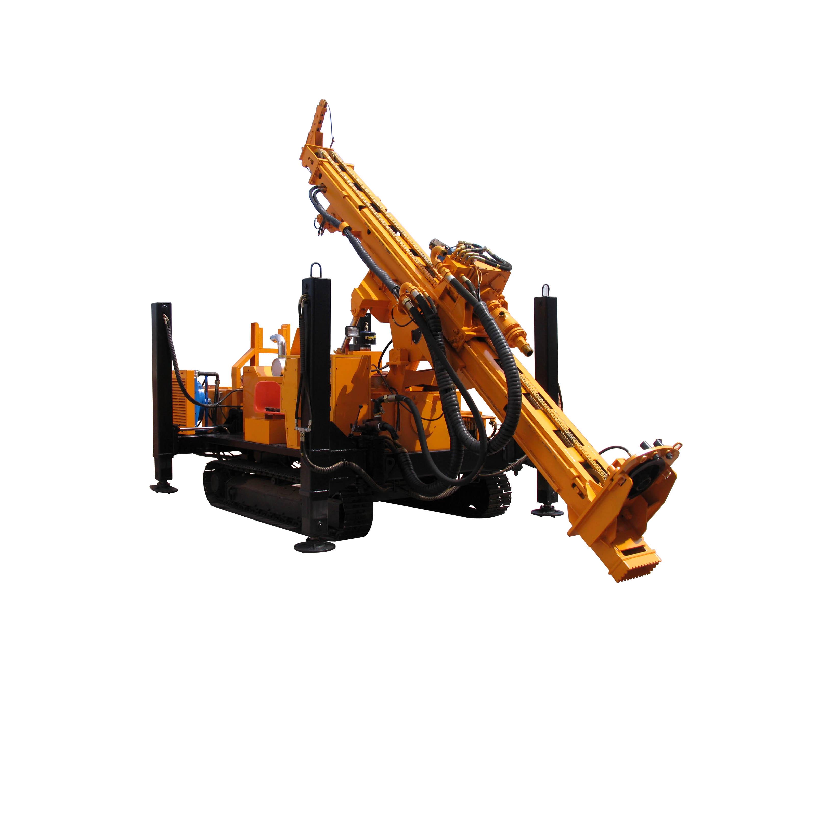 RC Crawler Drill Rig