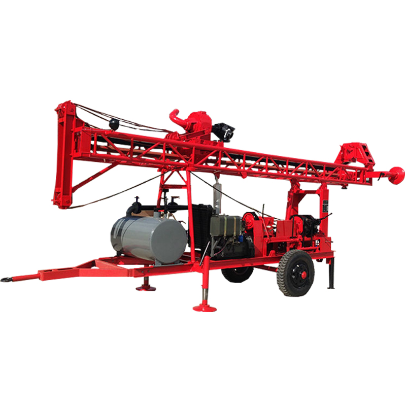 GL-Ⅱ Trailer Mounted Drilling Rig