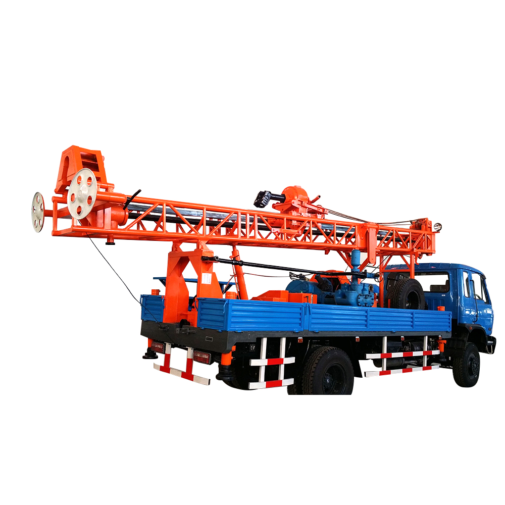 GL-ⅡA Truck Mounted Drilling Rig
