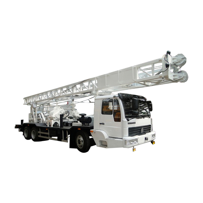 C350ZY Truck Mounted Drilling Rig