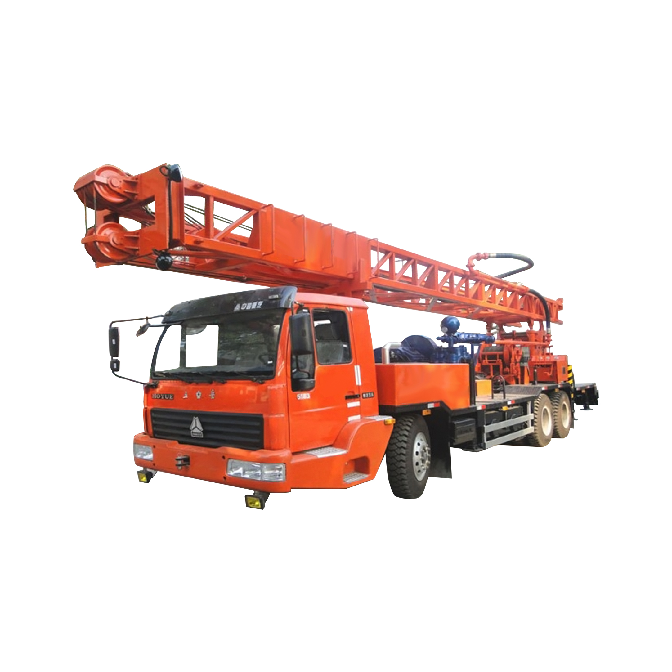 C400ZY Truck Mounted Drilling Rig