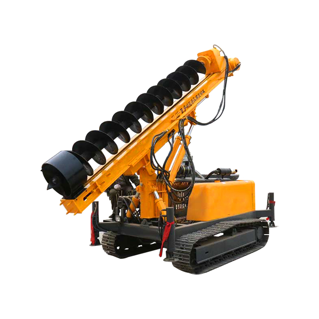 TL135-3 Crawler Auger pile drill rig