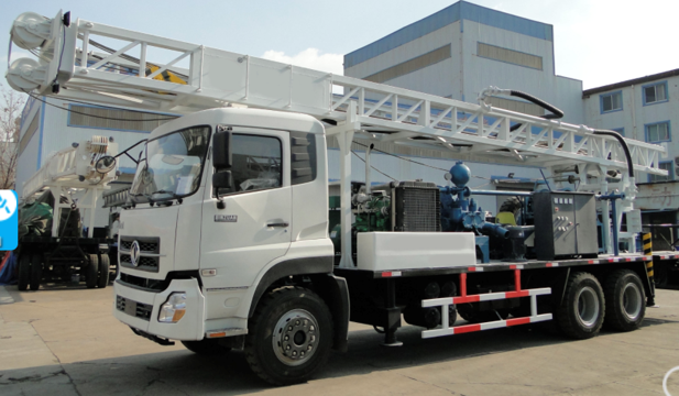 DF400 Truck Mounted Water Well Drilling Rig